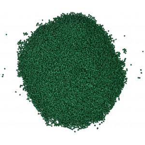 Plastkulor / Plastgranulat / Dockfyllning Grön 500 gr
