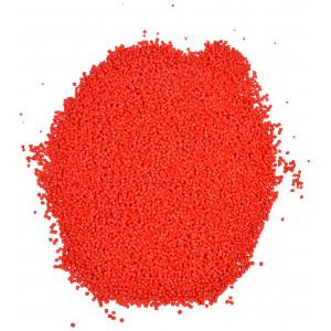 Plastkulor / Plastgranulat / Dockfyllning Röd 500 gr