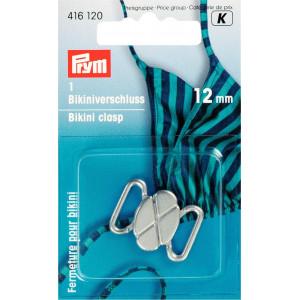 Prym Bikinihängare/Bikinilås Metal Matt Silver 12mm - 1 sätt