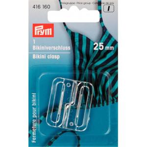 Prym Bikinispänne Plast Transparent 25mm - 1 sätt