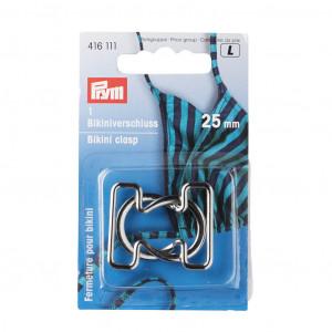 Prym Bikinispänne/Bälte Metall Silver 25mm - 1 sätt
