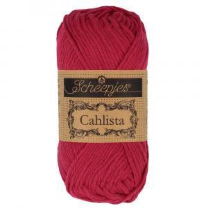 Scheepjes Cahlista Garn Unicolor 192 Scarlet