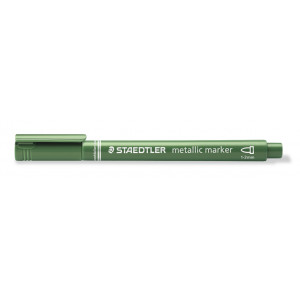 Staedtler Marker Tuschpenna Metallic Grön 1-2 mm - 1 st.