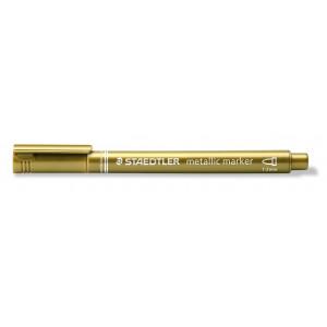 Staedtler Marker Tuschpenna Metallic Guld 1-2 mm - 1 st.