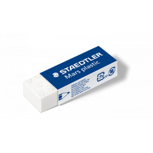 Staedtler Mars Plastic Suddgummi 65x23x13mm - 1 st.