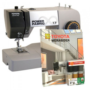 Toyota Power Fabriq 17 Symaskin för läder - Grå