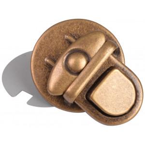 Väsklås Metall Antik Guld 30x33mm - 1 st